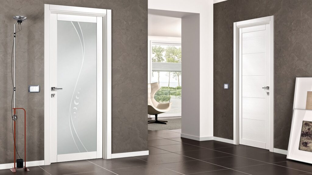 Immagine design porte interne