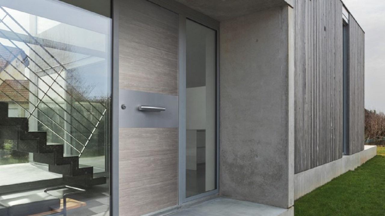 Immagine porta blindata esterno